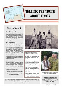 Telling the Truth about Timor