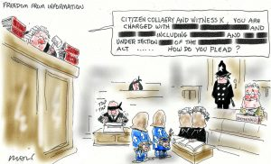 Alan Moir - Freedom from Information