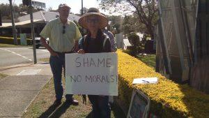 Brisbane201109 Shame no morals